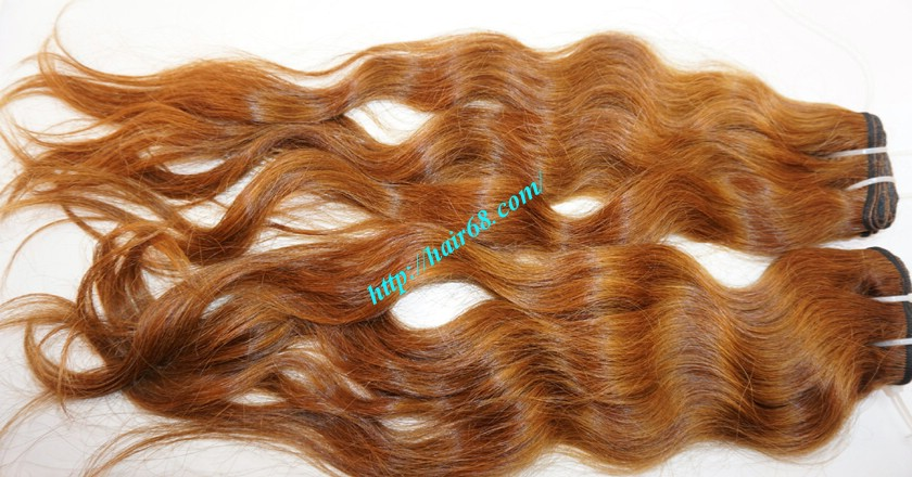 18 inch Remy Human Hair Weave - Steam Wavy 2