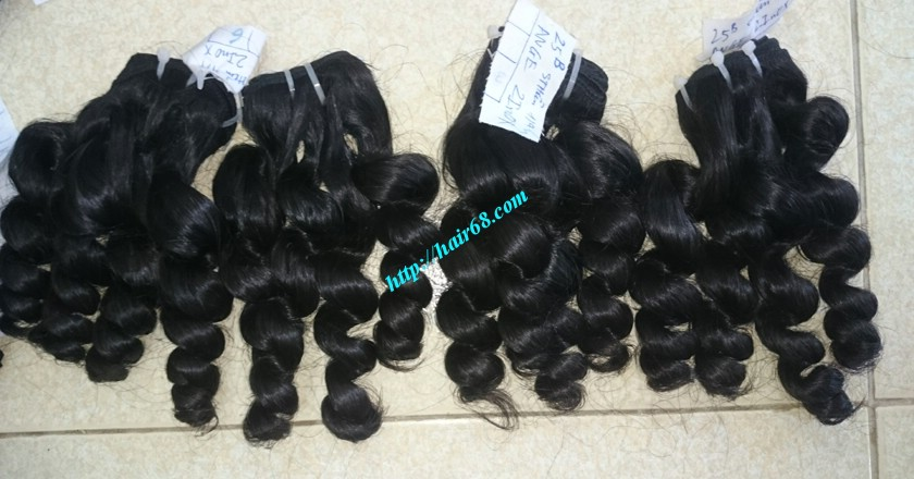 18 inch Remy Human Hair Weave - Steam Wavy 6