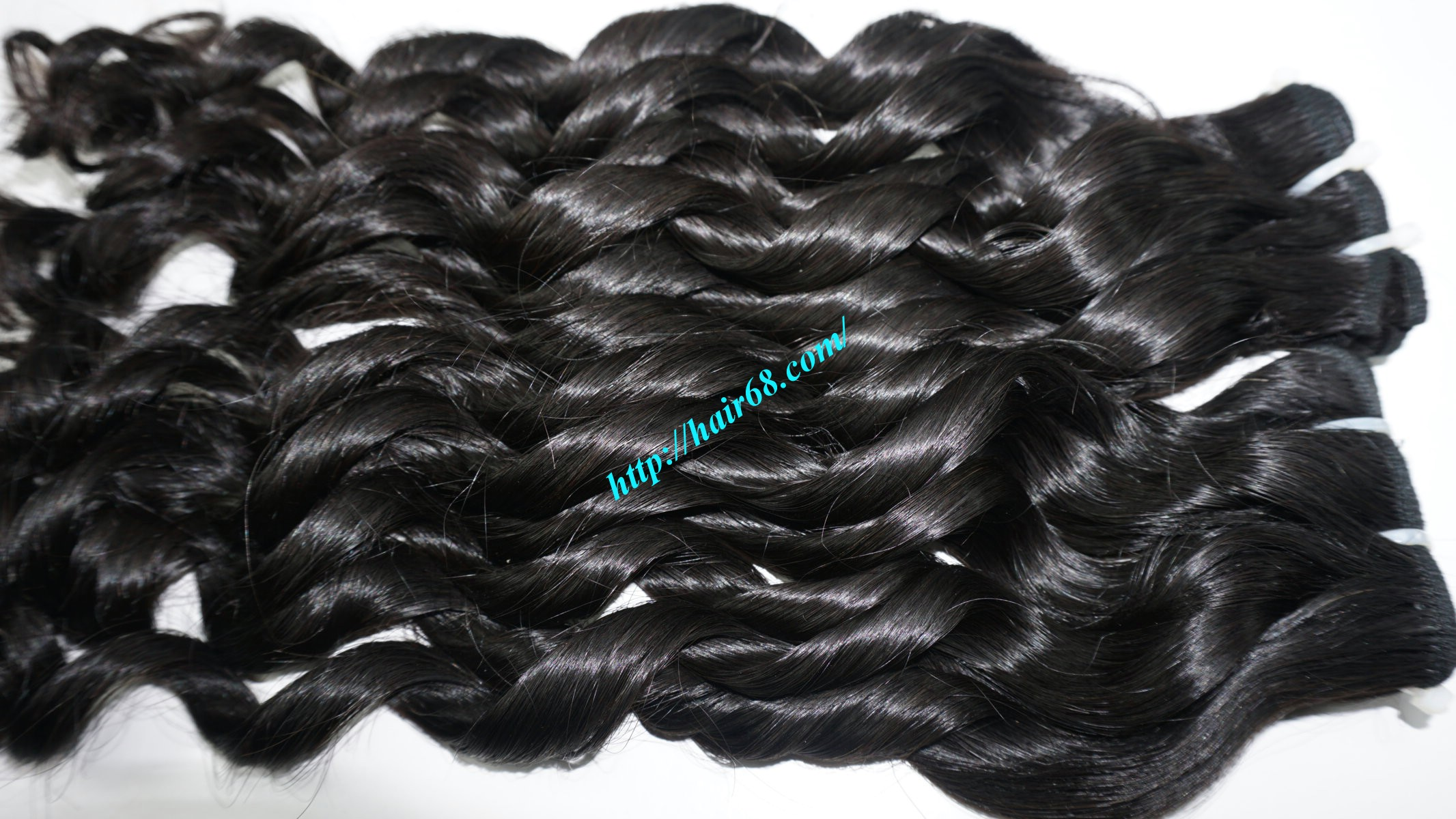 20 inch - Weave Loose Curly Hair Extensions - Double Drawn 11
