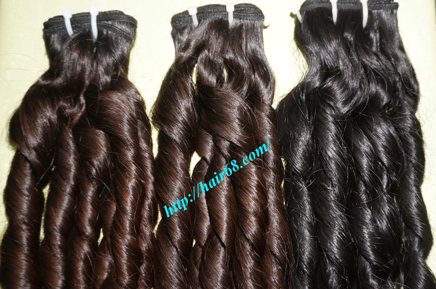 20 inch - Weave Loose Curly Hair Extensions - Double Drawn 4
