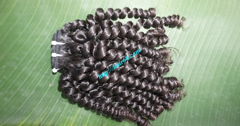 20 inch Curly Human Hair Weave 6