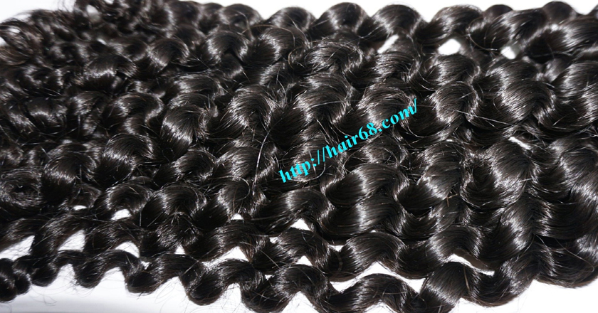 20 inch curly weave hair vietnam hair extensions 3