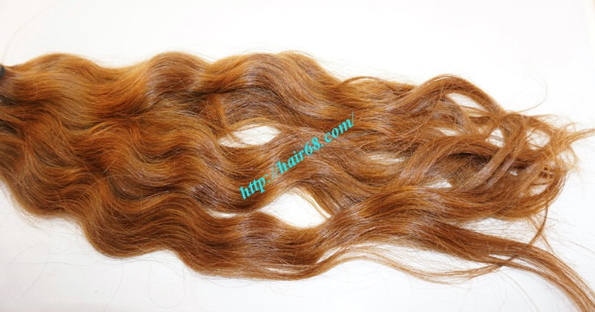 20 inch Remy Hair Weave Extensions - Steam Wavy 2