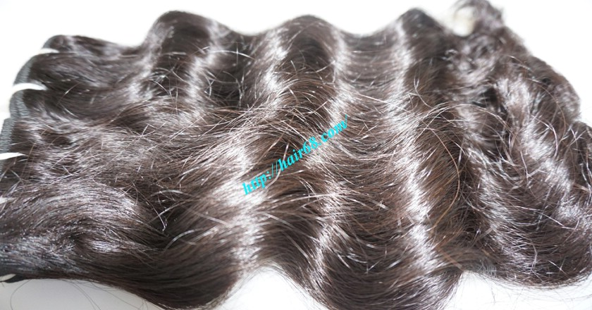 20 inch Remy Hair Weave Extensions - Steam Wavy 3