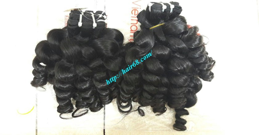 20 inch Remy Hair Weave Extensions - Steam Wavy 5