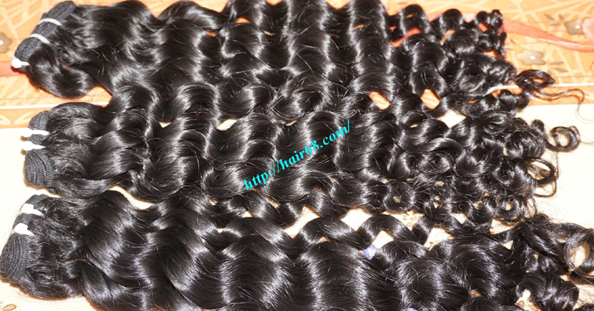 22 inch Best Curly Weave – Single Drawn 1