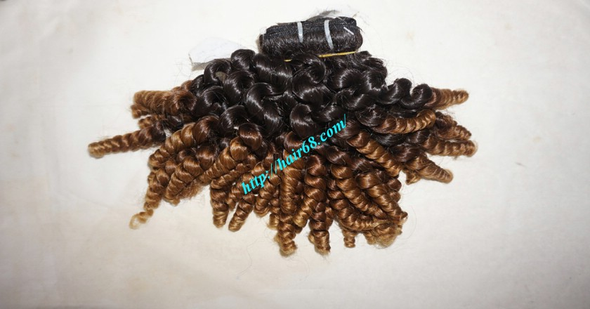 22 inch Best Curly Weave – Single Drawn 4