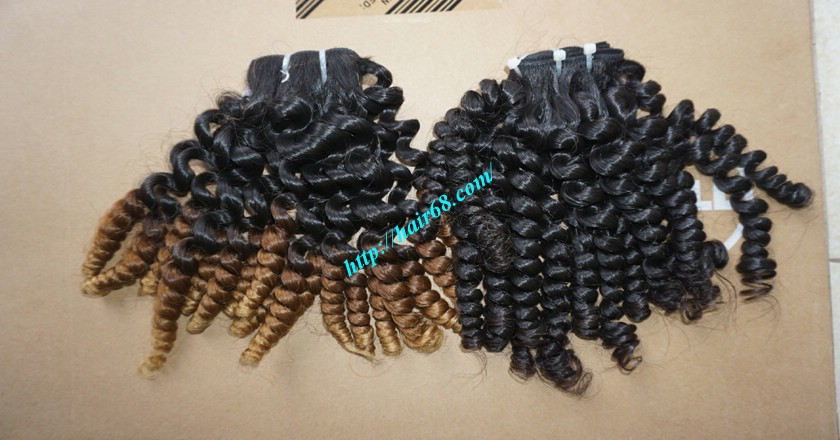 22 inch Best Curly Weave – Single Drawn 7