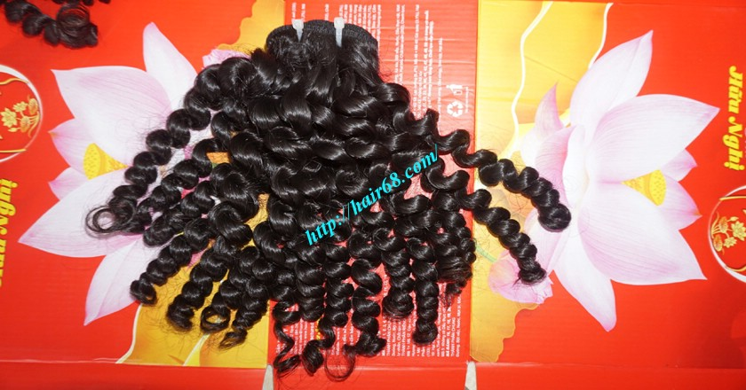 22 inch Best Curly Weave – Single Drawn 8