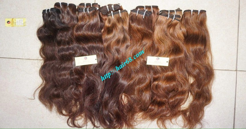 22 inch Wavy human hair weave – Natural Wavy 4