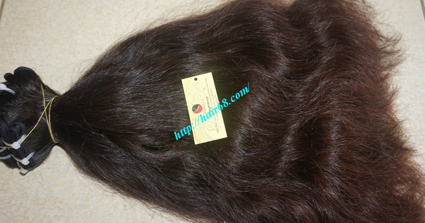 22 inch Wavy human hair weave – Natural Wavy 5