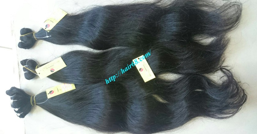 22 inch Wavy human hair weave – Natural Wavy 6