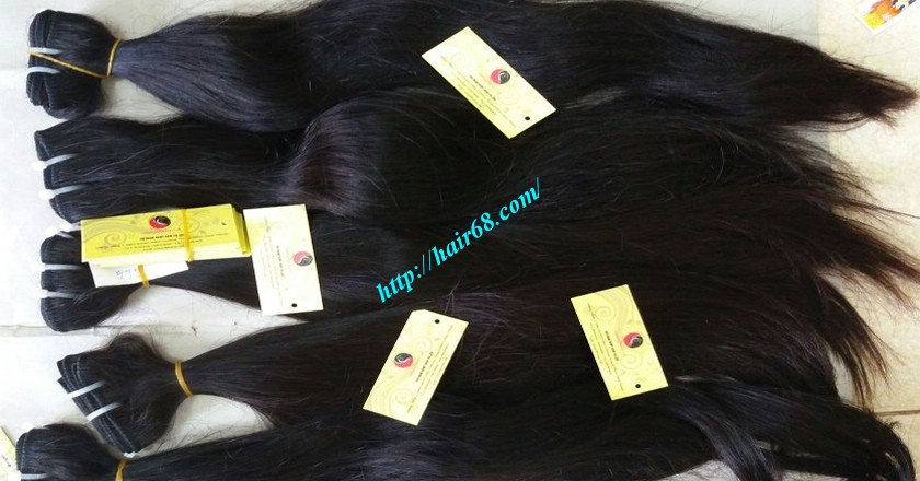 22 inch Wavy Remy Hair Weave - Natural Wavy 6