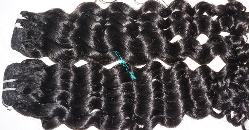 24 inch Cheap Curly Weave Human Hair 1