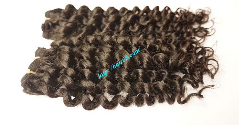 24 inch Cheap Curly Weave Human Hair 2