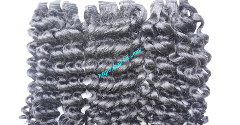 24 inch Cheap Curly Weave Human Hair 3