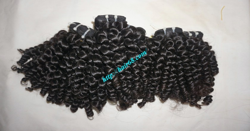 24 inch Cheap Curly Weave Human Hair 4