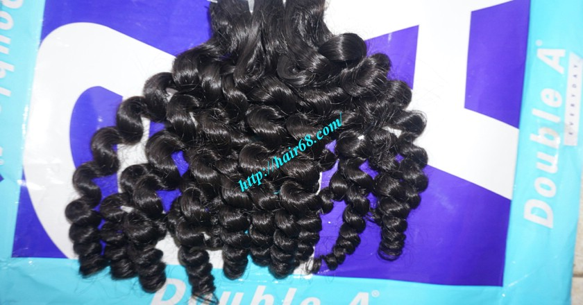 24 inch Cheap Curly Weave Human Hair 5
