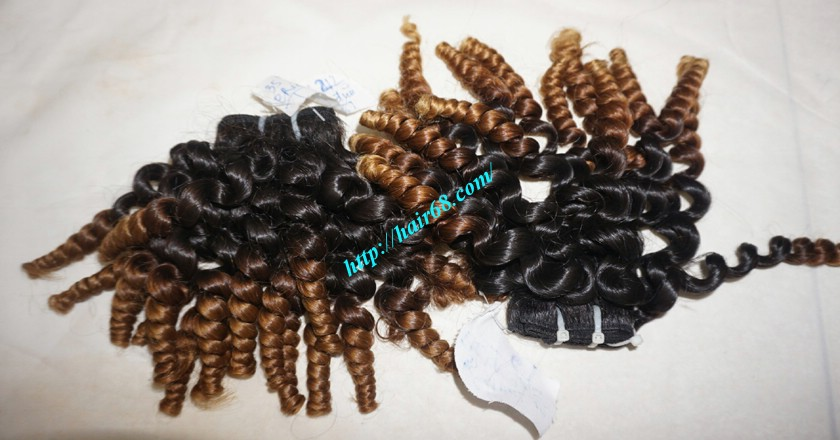 24 inch Cheap Curly Weave Human Hair 6
