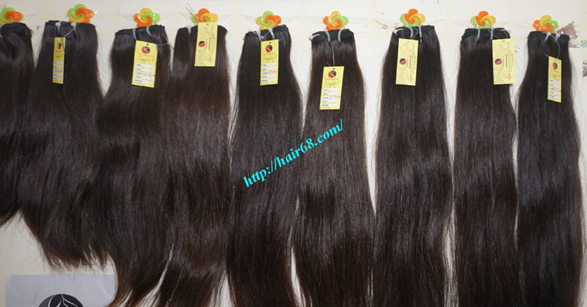 24 Inch Weave Remy Hair Extensions Made From Vietnam Hair