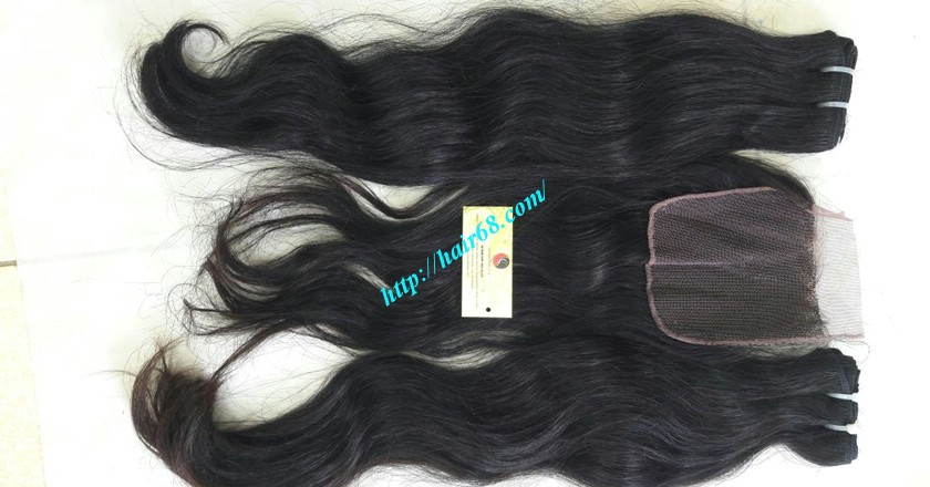 24 inch Wavy hair extensions - Natural Wavy 4