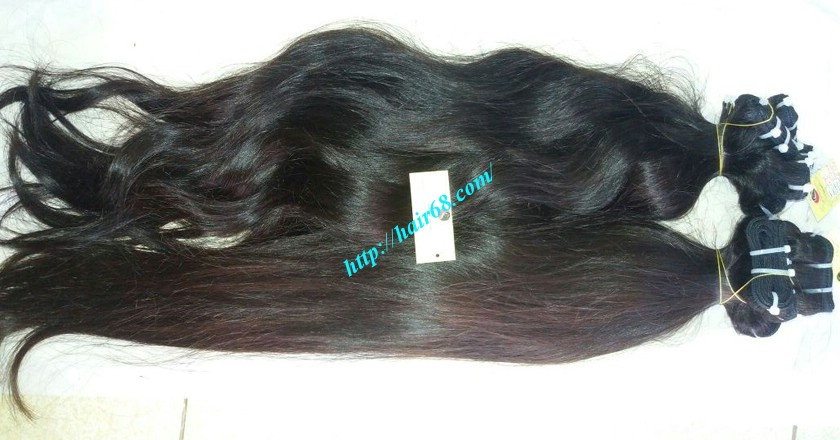 24 inch Wavy hair extensions - Natural Wavy 5