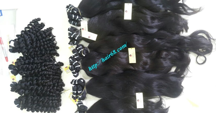24 inch Wavy hair extensions - Natural Wavy 6