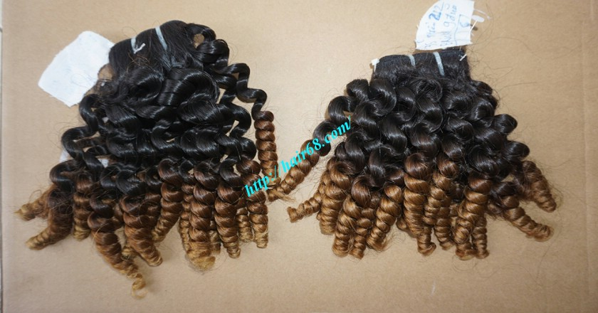 26 inch Curly Weave Remy Hair Extensions 5