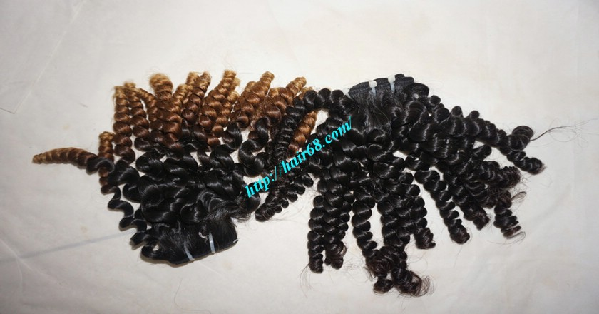 26 inch Curly Weave Remy Hair Extensions 7