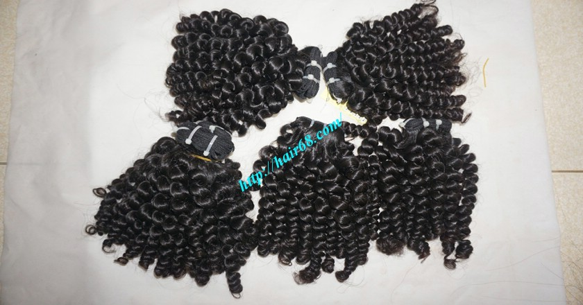 26 inch Curly Weave Remy Hair Extensions 8