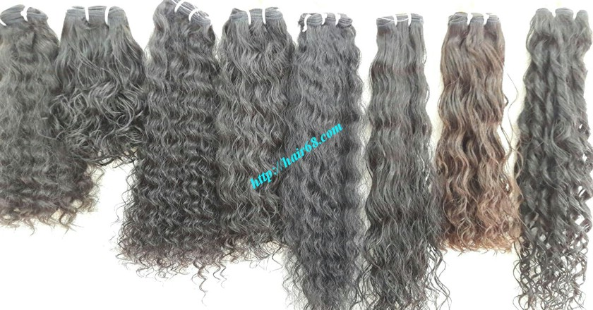 26 inch Remy Human Hair Extensions - Steam Wavy 7