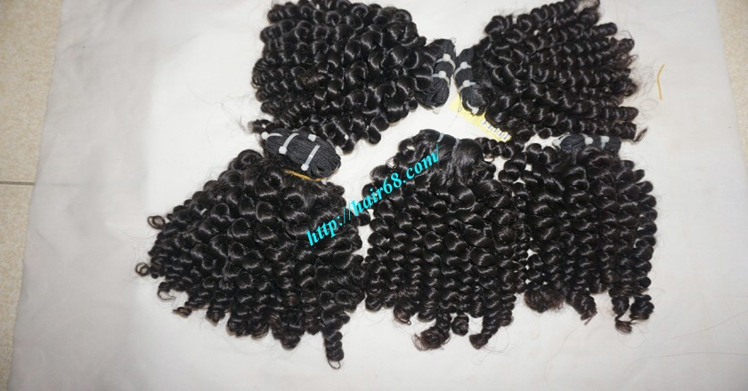 28 inch Long Curly Hair Weave Extensions 9