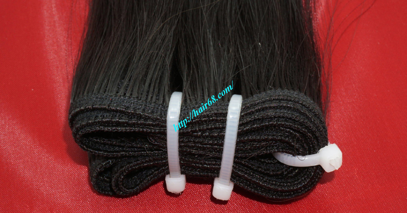 28 inch Natural Human Hair Weave 1