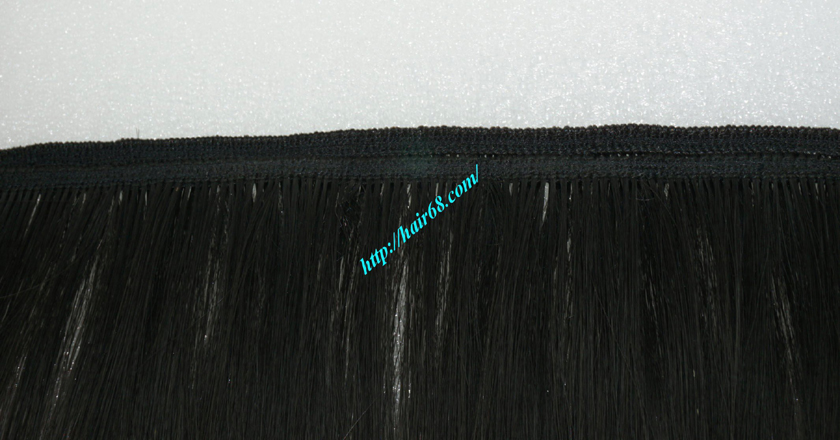 28 inch Natural Human Hair Weave 2