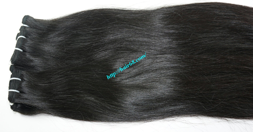 28 inch Natural Human Hair Weave 3
