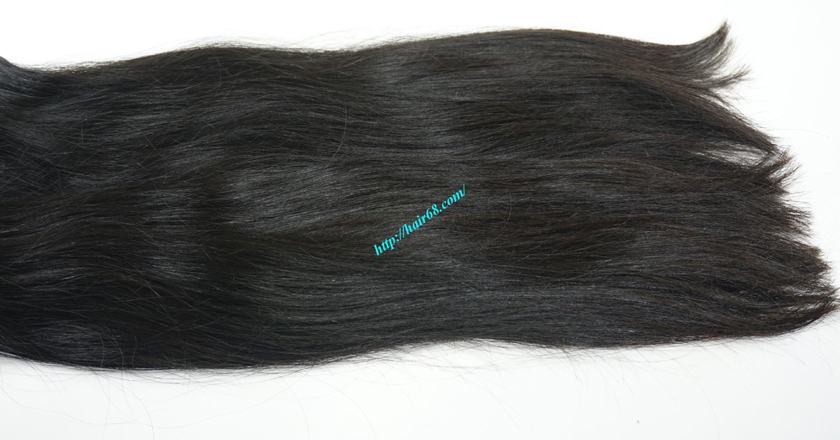 28 inch Natural Human Hair Weave 4