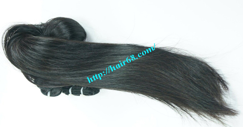 28 inch Natural Human Hair Weave 5