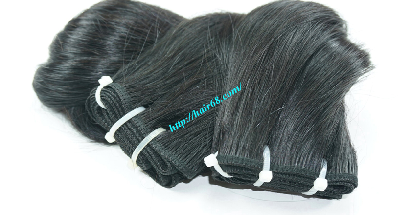 28 inch Natural Human Hair Weave 6