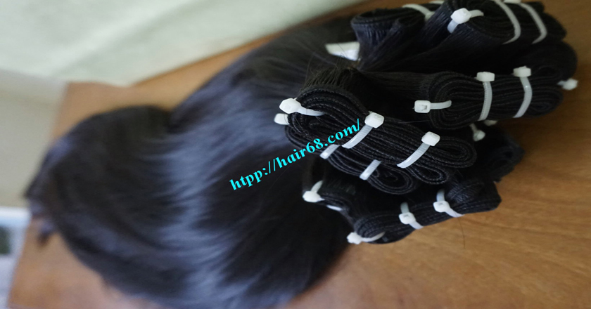 28 inch Natural Human Hair Weave 7