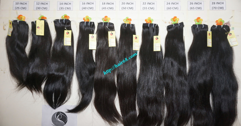 28 inch Natural Human Hair Weave 11