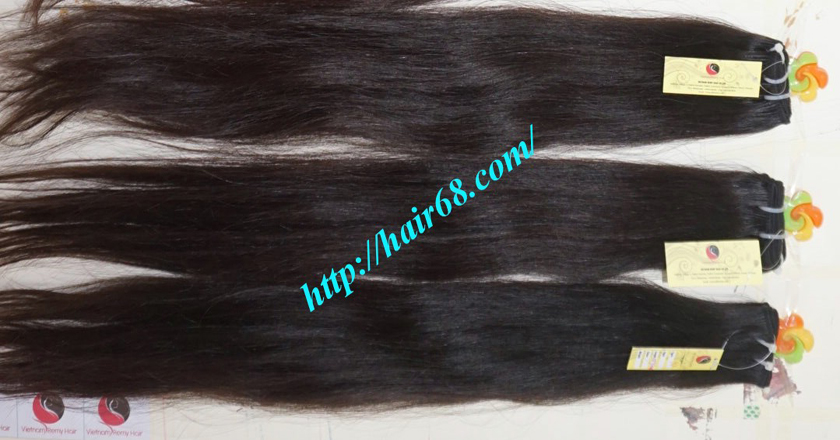 28 inch Natural Human Hair Weave 12
