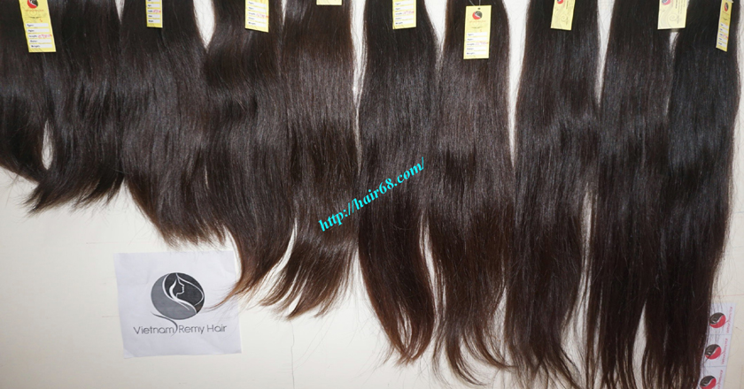 28 inch Natural Human Hair Weave 13