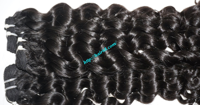 30 inch Long Curly Weave Hair Extensions 1
