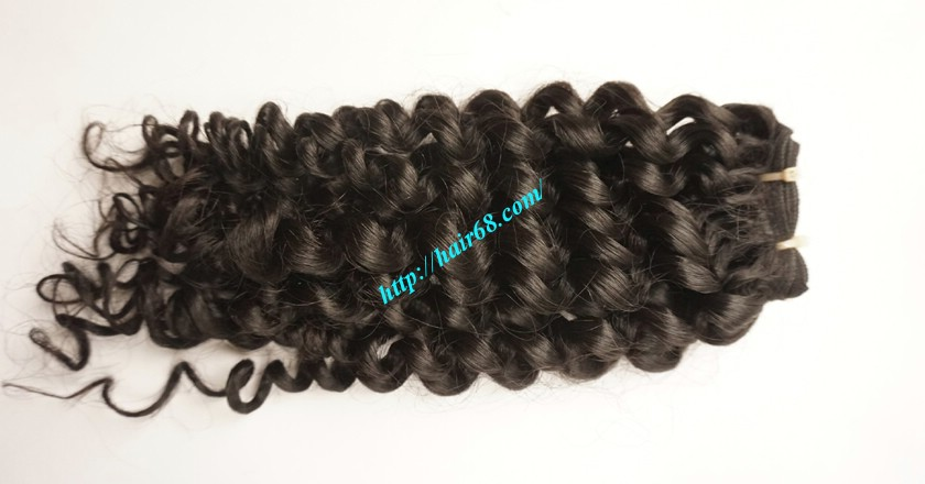 30 inch Long Curly Weave Hair Extensions 2