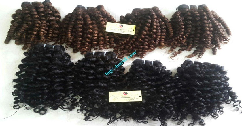30 inch Long Curly Weave Hair Extensions 3