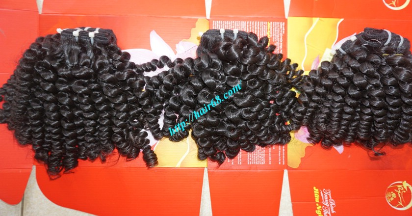 30 inch Long Curly Weave Hair Extensions 4