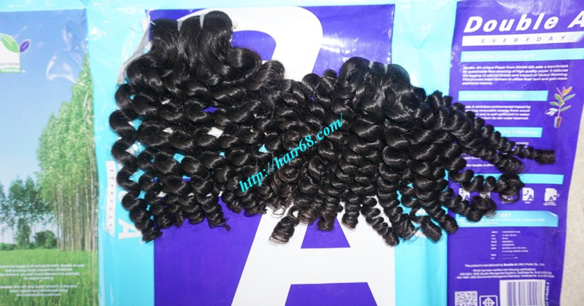 30 inch Long Curly Weave Hair Extensions 6