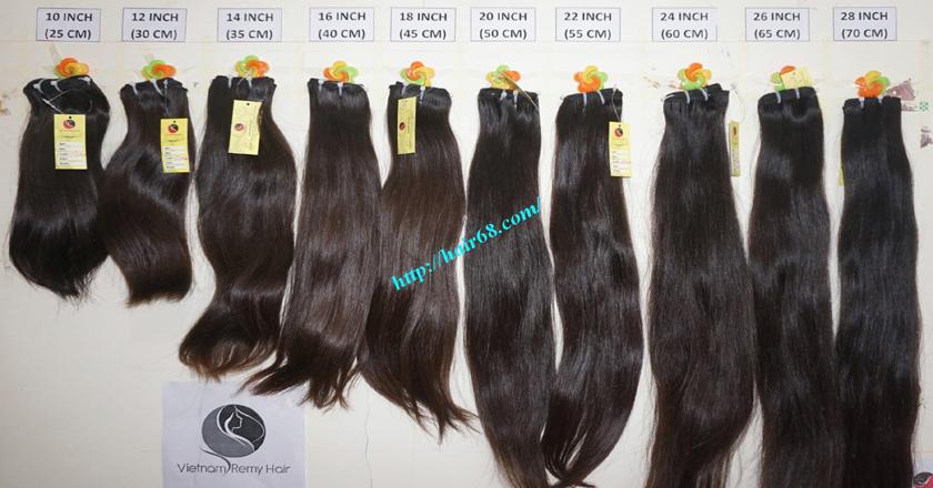 30 inch virgin hair weave extensions 12