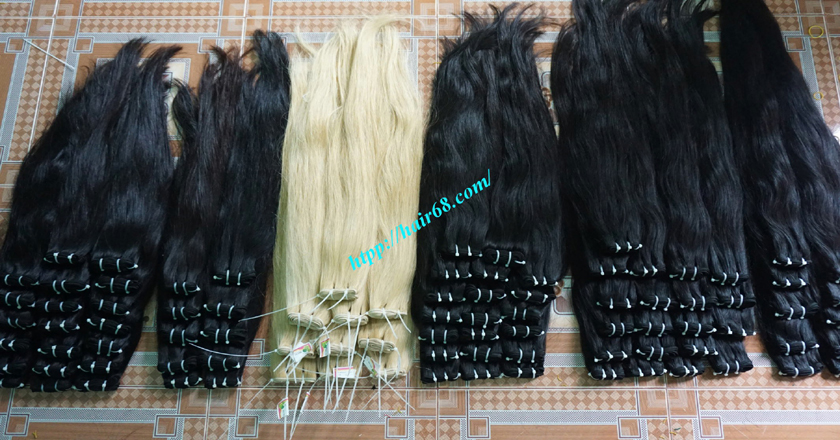 30 inh Natural Human Hair Weave 9