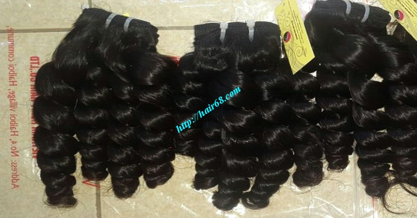 30 inch Best Weaves For Natural Hair - Steam Wavy 4